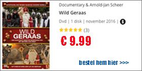 Wild Geraas de DVD