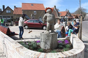 Boegbeeld in Hollum - 2013