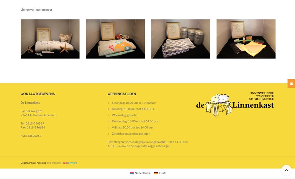 Website Van De Maand Juni 2019 Persbureau Ameland