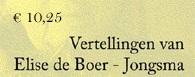 Boek Lise de Boer